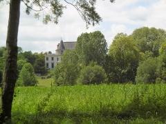 Domaine de Méréville - Français:   Château de Méréville dans le parc