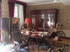 Maison à tourelles - English: Grand Salon of the Cocteau House, Milly-le-Foret