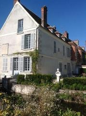 Maison à tourelles - English: Exterior of the Jean Cocteau House in Milly-la-Foret