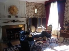 Maison à tourelles - English: Grand Salon of the Jean Cocteau House in Milly-la-Foret, France