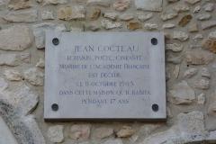 Maison à tourelles - Deutsch: Maison Jean Cocteau in Milly-la-Forêt im Département Essonne der Region Île-de-France (Frankreich)