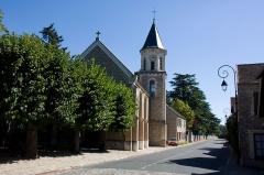 Eglise -  Eglise de Morsang-sur-Seine, Morsang-sur-Seine, Essonne, France