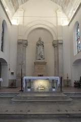 Eglise Saint-Médard - Deutsch: Alte katholische Pfarrkirche Saint-Médard in Clichy im Département Hauts-de-Seine (Île-de-France/Frankreich)