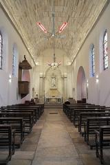 Eglise Saint-Médard - Deutsch: Alte katholische Pfarrkirche Saint-Médard in Clichy im Département Hauts-de-Seine (Île-de-France/Frankreich), Innenraum