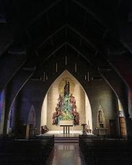 Eglise - English: Eglise saint Jean-Baptiste, Le Plessis Robinson
