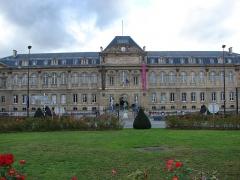 Domaine national de Saint-Cloud : ancienne école nationale de céramique - Français:   Vue de face de la Cité de la céramique (musée et manufacture) à  Sèvres