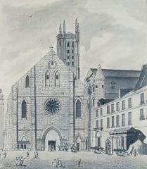 Ancienne abbaye Sainte-Geneviève, actuel lycée Henri IV - English: Abbey of Sainte-Genevieve