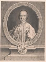 Ancienne abbaye Sainte-Geneviève, actuel lycée Henri IV - Français:   Portrait de François Patot, abbé de Sainte-Geneviève de Paris (1739-1745) et supérieur général des chanoines réguliers de la congrégation de France.