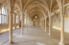 Ancien couvent des Bernardins - La nef du collège des Bernardins à Paris.