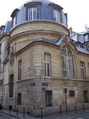Ancienne faculté de médecine, actuellement Maison des étudiants - English: View of the Students Home of Paris (1909) at rue de la Brûlerie in Paris.