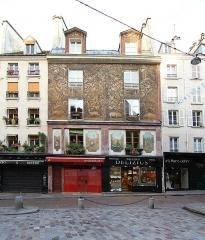 Immeuble - Deutsch: Rue Mouffetard in Paris