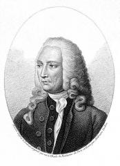 Ancienne académie de chirurgie, actuellement Faculté de Médecine (Université Paris V-René Descartes) - English: André Levret (1703-1780) French gynecologist