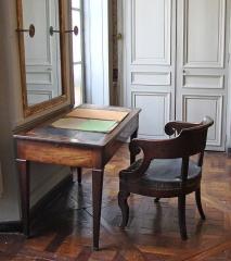 Immeuble -  Le bureau d'Auguste Comte dans l'appartement, 10 rue Monsieur le Prince à Paris.