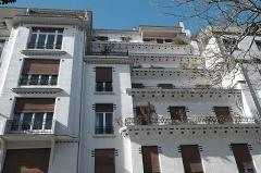 Immeuble - Deutsch: Stufenhaus von Henri Sauvage, 26 rue Vavin, im 6. Arrondissement in Paris (Île-de-France/Frankreich)