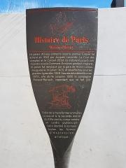 Ancienne gare d'Orsay, actuellement musée d'Orsay - English: Histoire de Paris