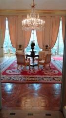 Anciens hôtels de Brienne et de Broglie, actuellement ministère de la défense - Salon du billard de l'Hôtel de Brienne