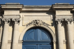 Ancien hôtel de Besenval ou ancien hôtel Chanac de Pompadour, actuellement siège de l'Ambassade de Suisse - Deutsch: Hôtel Chanac de Pompadour, Botschaft der Schweiz, in der Rue de Grenelle im 7. Arrondissement von Paris (Frankreich)