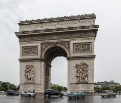 Arc de Triomphe de l'Etoile - German amateur photographer, wikipedian and mathematician