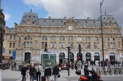 Gare Saint-Lazare -  Gare du Nord, Paris, France.