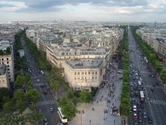 Hôtel Landolfo-Carcano, actuellement ambassade du Qatar -  Paris