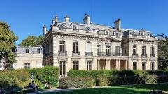Ancien hôtel Salomon de Rothschild ou de Beaujon, actuellement fondation nationale des arts graphiques et plastiques - Deutsch: Paris, Hôtel Salomon de Rothschild