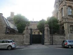 Lycée Chaptal - Français:   71bis rue de Rome à Paris XVIIe.