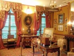 Hôtel Renan-Scheffer, actuellement musée de la vie romantique - Čeština: Musée de la Vie romantique - interiér