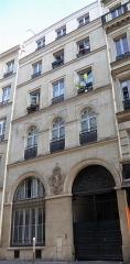 Immeuble - Français:   Rue Saint-Lazare 27