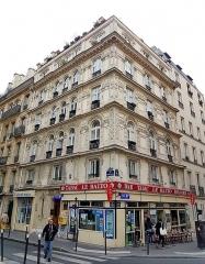 Immeuble - Deutsch: Paris, historistisches Jugendstil-Gebäude an der Rue Victor-Massé