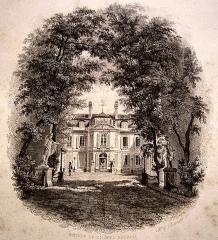 Mairie annexe du neuvième arrondissement - English: Entrée de l'hôtel Aguado