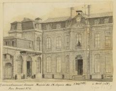 Mairie annexe du neuvième arrondissement - English: Mairies. 9e l'Opéra. 10e enclos Saint-Laurent - mairie du 2e arrondissementt devenue mairie du IX depuis 1860. Rue Drouot n°6