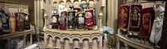 Synagogue - Français:   Intérieur de l\'Arche sainte de la synagogue de la Victoire à Paris