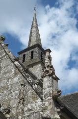 Eglise Notre-Dame du Tertre - Deutsch: Katholische Kirche Notre-Dame du Tertre in Châtelaudren im Département Côtes-d'Armor (Region Bretagne/Frankreich), Turm