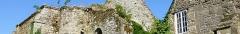 Ancienne abbaye Sainte-Croix - Français:   Abbaye Sainte-Croix, Guingamp, Cotes d\'Armor, France