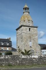 Vieille église Saint-Cieux - Deutsch: Glockenturm der alten Kirche in Lancieux im Département Côtes-d'Armor (Region Bretagne/Frankreich)