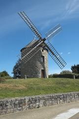 Moulin à vent - Deutsch: Windmühle in Lancieux im Département Côtes-d'Armor (Region Bretagne/Frankreich)