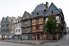 Maison du 16e siècle - Français:   Lannion, maison du Chapelier