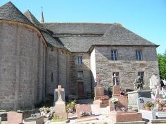 Eglise de la Trinité de Brélévenez - Église de la Trinité de Brélévenez à Lannion vue de l'Est.