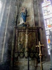 Eglise Saint-Yves - Brezhoneg: Ar Vinic'hi. Banniel ar C'hrist