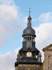 Eglise Saint-Mathurin - Clocher de l'église Saint-Mathurin de Moncontour (Côtes-d'Armor)