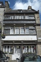 Maison - Deutsch:   Haus, Ancienne Auberge de la Porte de la Rose, in Quintin im Département Côtes-d'Armor (Region Bretagne/Frankreich)