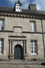 Deux maison - Deutsch: Haus, Rue Notre-Dame Nr. 5, in Quintin im Département Côtes-d'Armor (Region Bretagne/Frankreich)