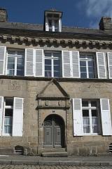 Deux maison - Deutsch: Haus, Rue Notre-Dame Nr. 7, in Quintin im Département Côtes-d'Armor (Region Bretagne/Frankreich)