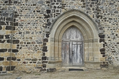 Eglise Saint-Gobrien - Deutsch: Katholische Kirche Saint-Gobrien in Morieux im Département Côtes-d'Armor (Region Bretagne/Frankreich), Portal