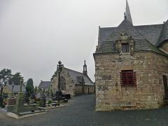 Chapelle Sainte-Nonne - Français:   église Sainte-Nonne