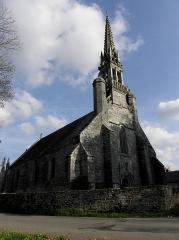 Chapelle Notre-Dame de Kerdevot - Chapelle Notre-Dame de Kerdévot en Ergué-Gabéric (29).