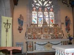 Eglise Notre-Dame d'Izel Vor - English: The church of Our Lady of Izel-Vor in La Forêt-Fouesnant (Finistère, Bretagne, France).