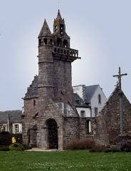 Eglise Saint-Maudez - Deutsch: Kirchenruine in der Bretagne