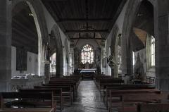 Eglise Saint-Edern - Deutsch: Katholische Kirche Saint-Edern in Lannédern im Département Finistère (Region Bretagne/Frankreich), Innenraum