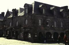 Place de l'Eglise -  Finistere Locronan Place Eglise
